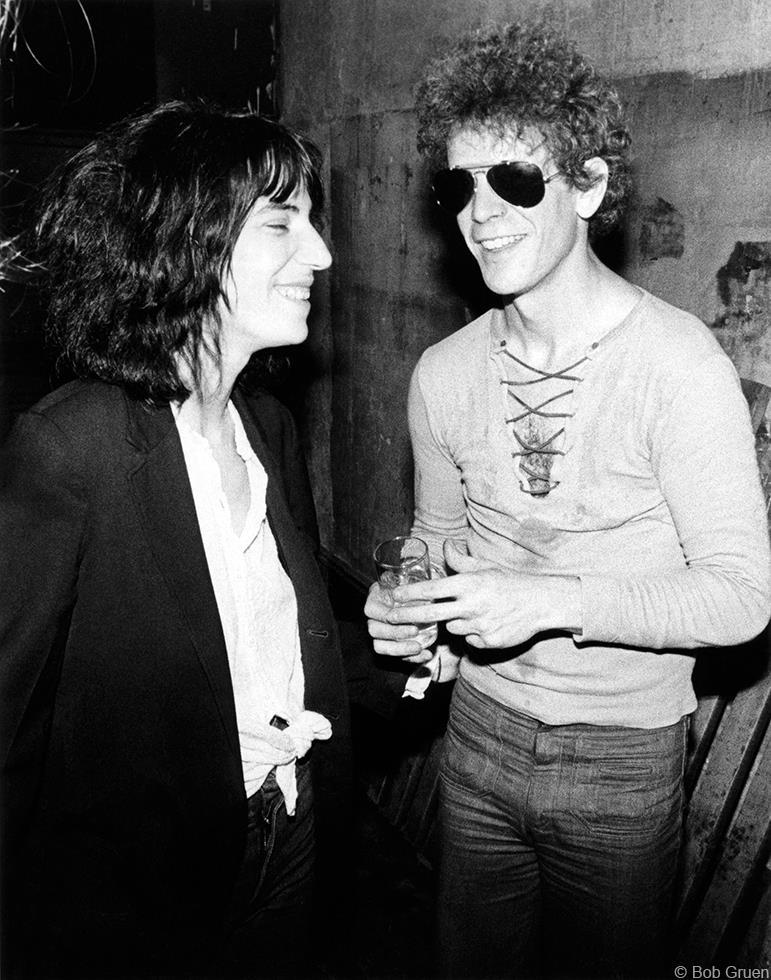 1976. Патти Смит и Лу Рид