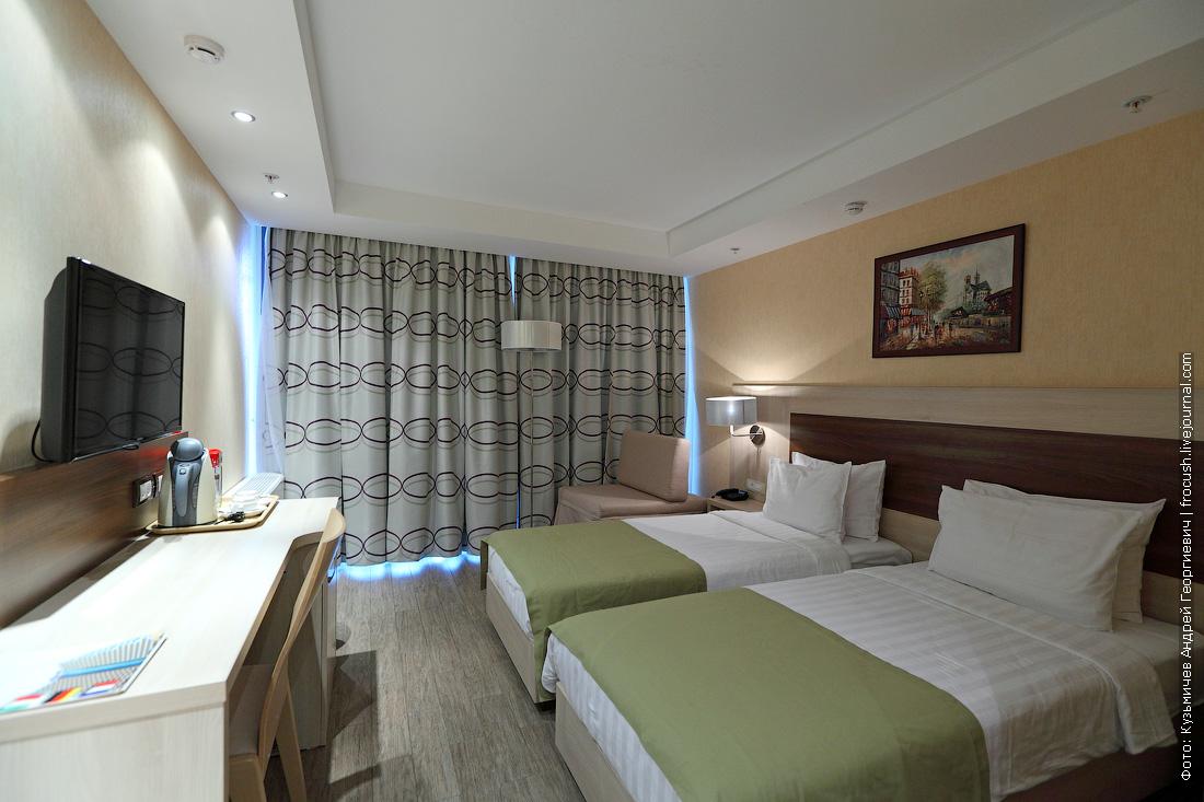 отдых в дагомысе двухместный номер с двумя раздельными кроватями