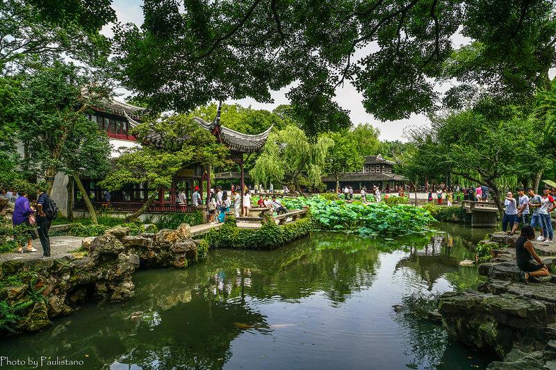 В садах Сучжоу