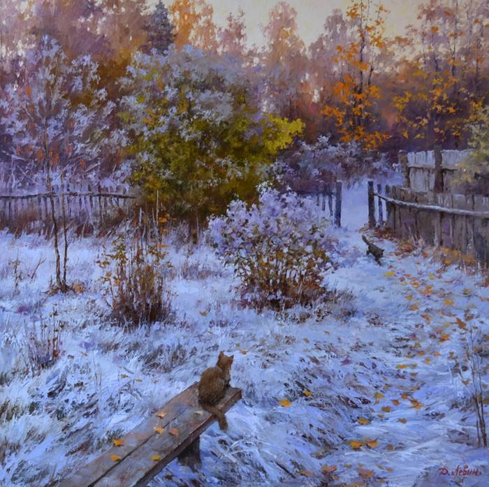 Картины Дмитрия Левина