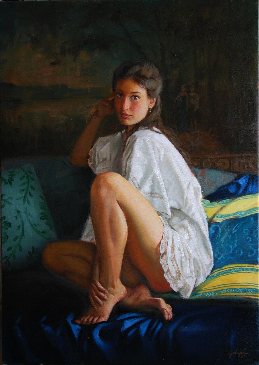 Картины Обнаженные Девочки Подростки