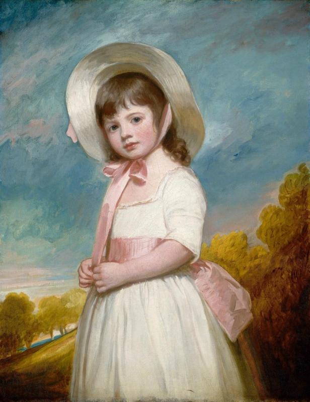 Художник George Romney (1734-1802 г.), Портрет мисс Виллоуби.jpg