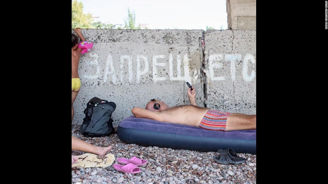 Отдых в Крыму глазами французского фотографа