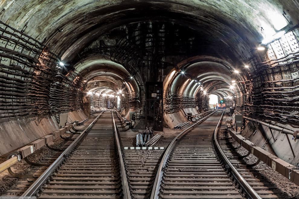 Тоннель метро картинки