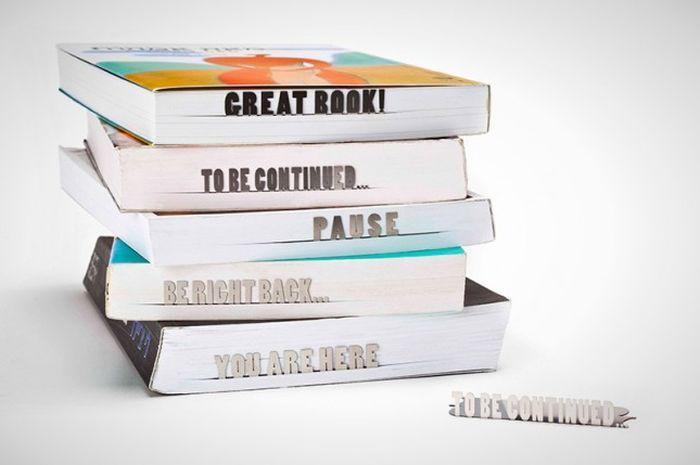 12. Информативные закладки Каждая из них способна выразить вашу эмоцию после прочтения книги.