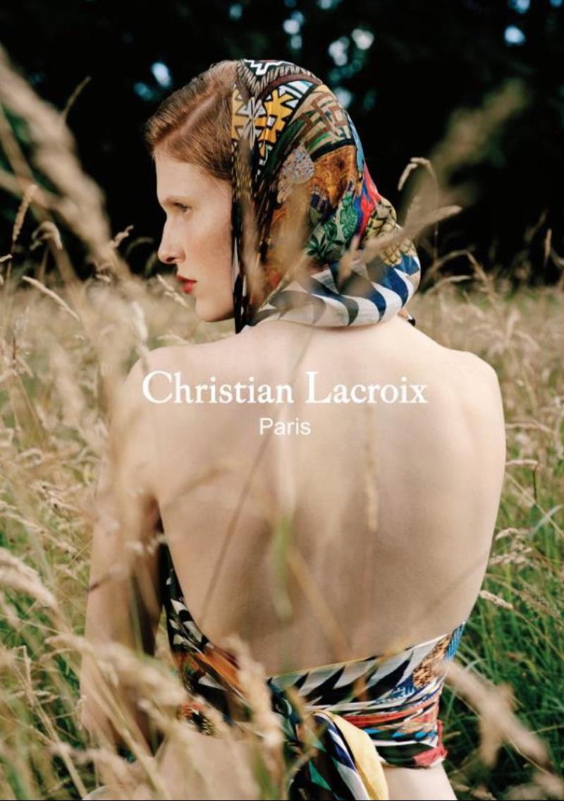 Рекламная кампания Christian Lacroix