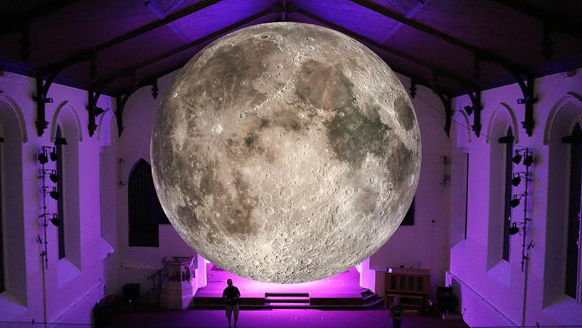 Точная копия луны размером семь метров (14 фото)