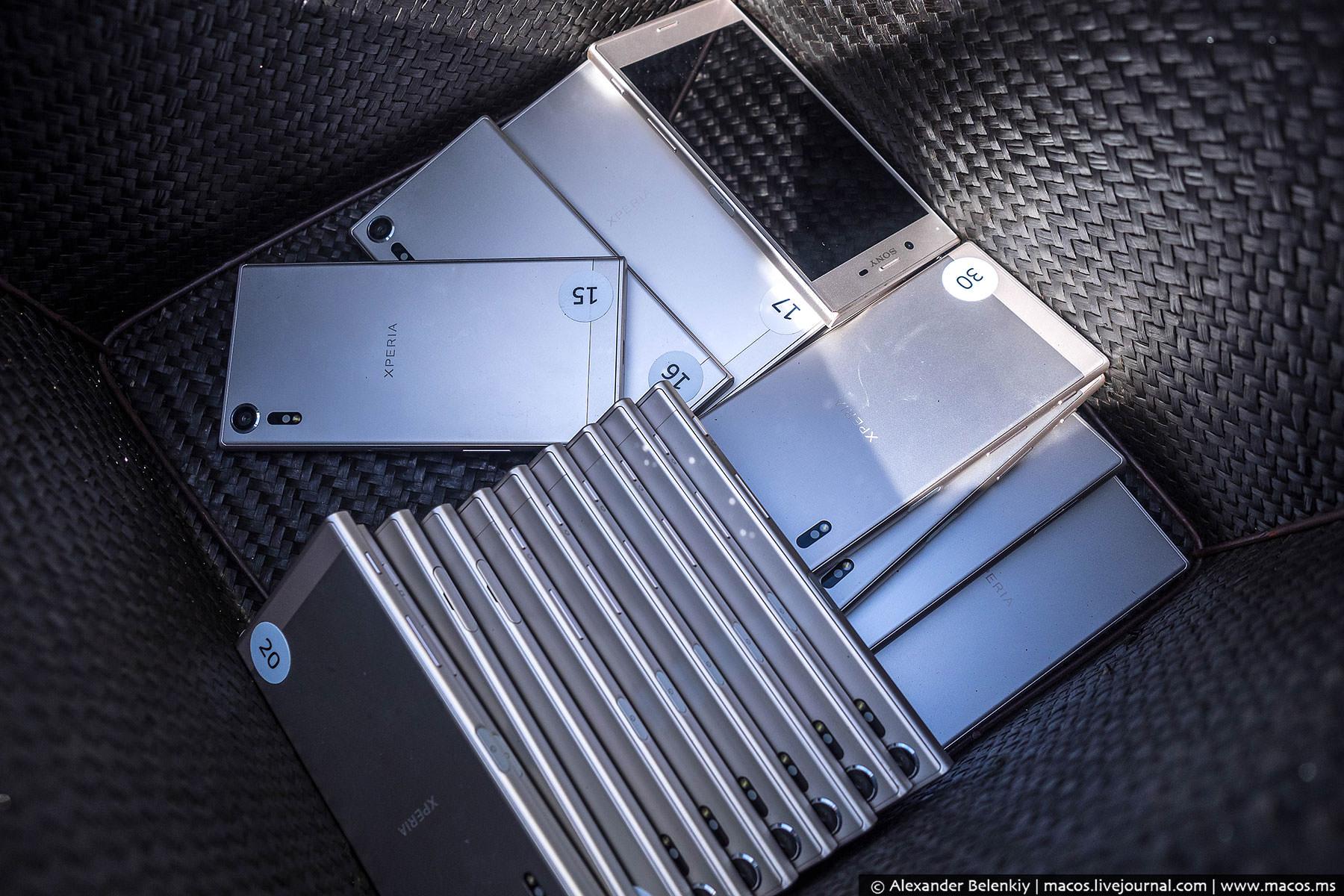 Нам же предложили потестировать еще одну новинку — Sony Xperia XZs. Она обладает таким же модулем ка