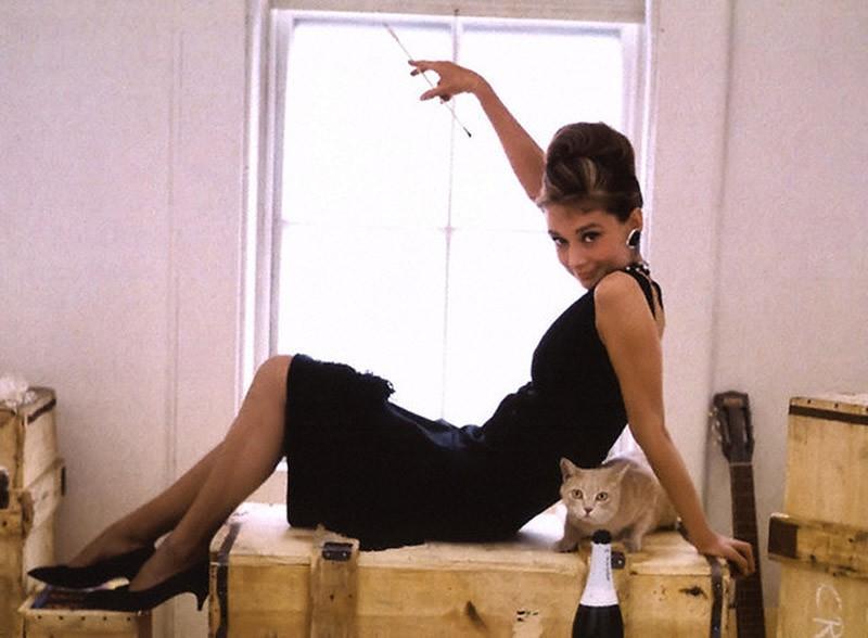 15. Съемки знаменитых афиш к фильму «Завтрак у Тиффани», 1961 год.