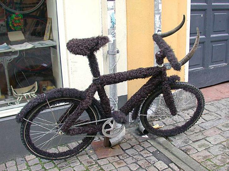Этот велосипед, найденный на улицах Копенгагена, понравится одновременно любителям и американских би
