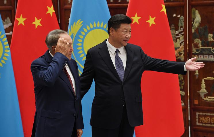 Назарбаев прибыл в КНР