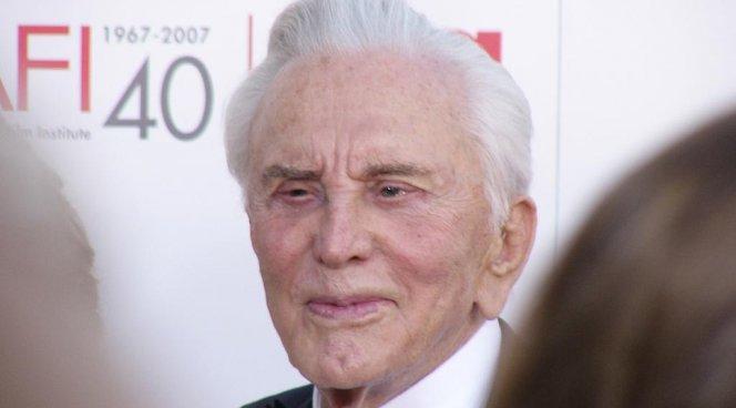 Голливудский артист Кирк Дуглас отмечает 100-летний юбилей