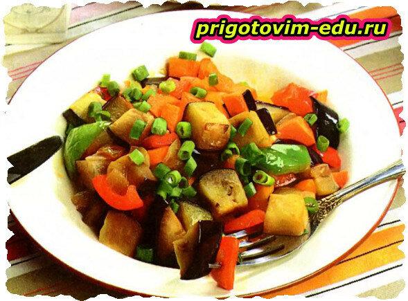 Овощное рагу «Витаминный ужин»
