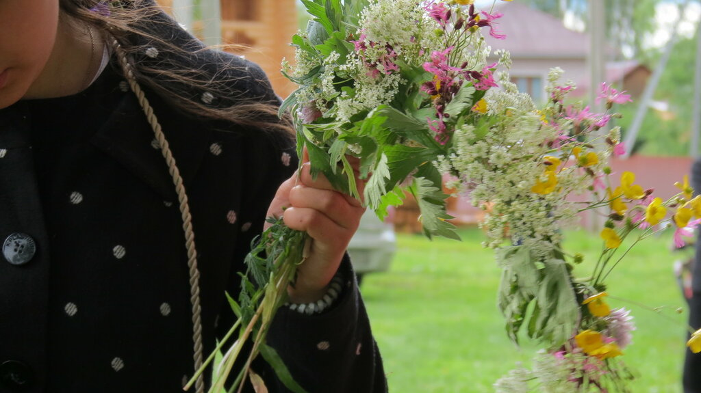 Праздник русского венка, село Вятское