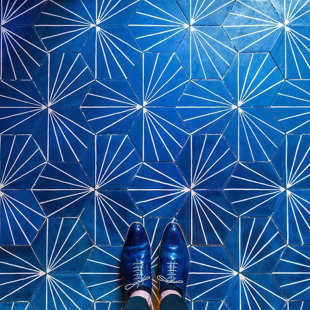 New European Mosaic Floors Captured by Photographer Sebastian Erras