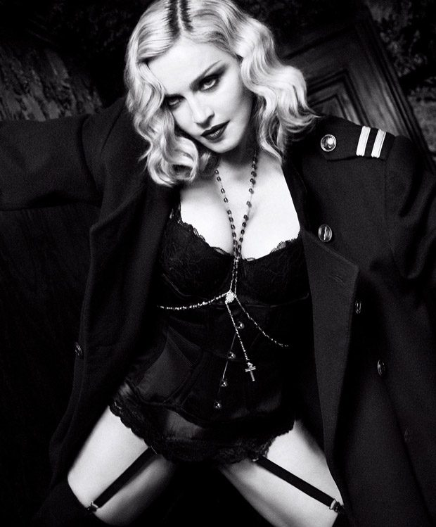 Music Icon Madonna Stars in Harper's Bazaar US February 2017 Issue