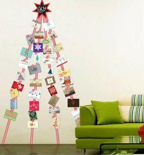 Творческие идеи для новогодних открыток