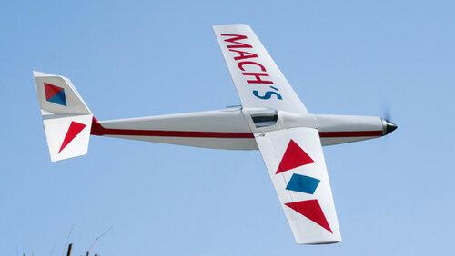 Чертеж модели самолёта Mach's
