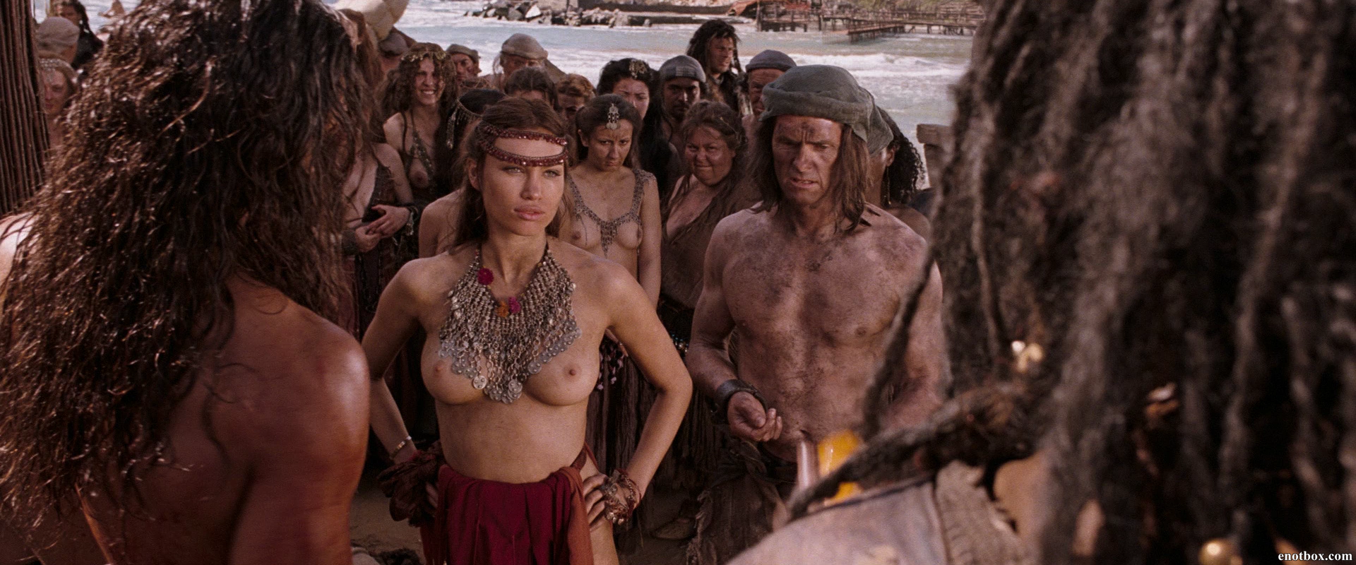Free preview of rachel nichols naked in conan the barbarian