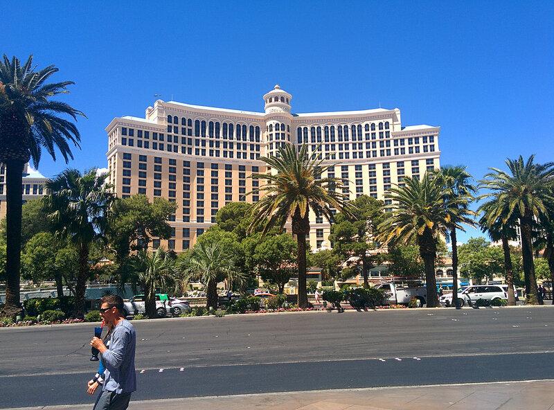 Белладжио Отель Лас Вегас.