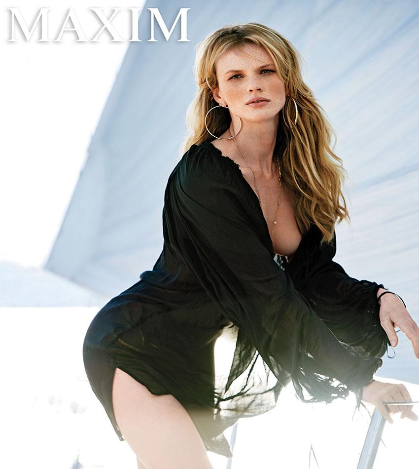 Anne Vyalitsyna - MAXIM US (September 2016)
