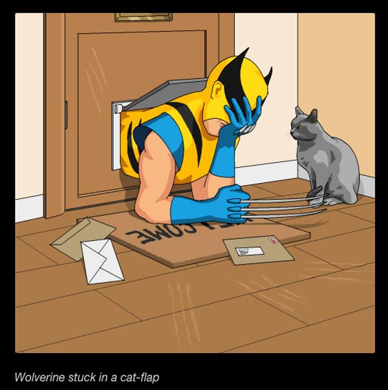 Quand un illustrateur s'amuse a dessiner les propositions WTF de ses lecteurs