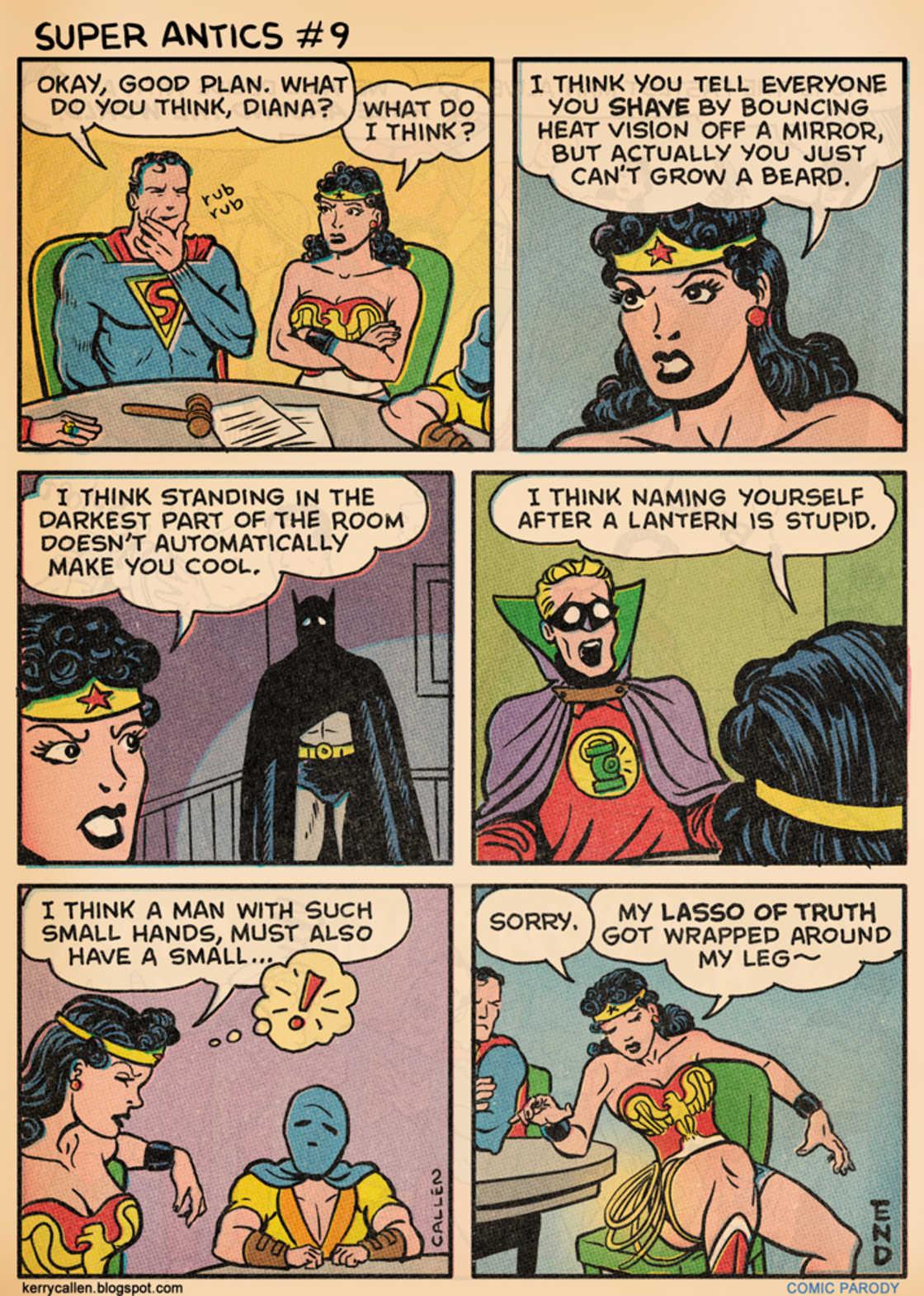 Superman est un cretin