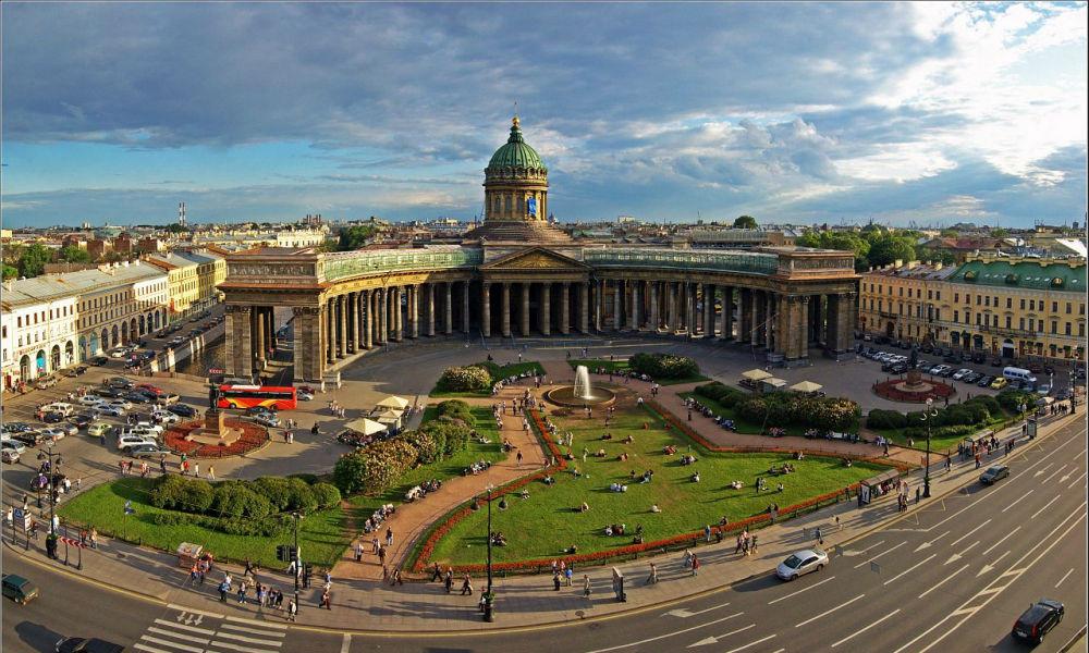 Туристические Петербург
