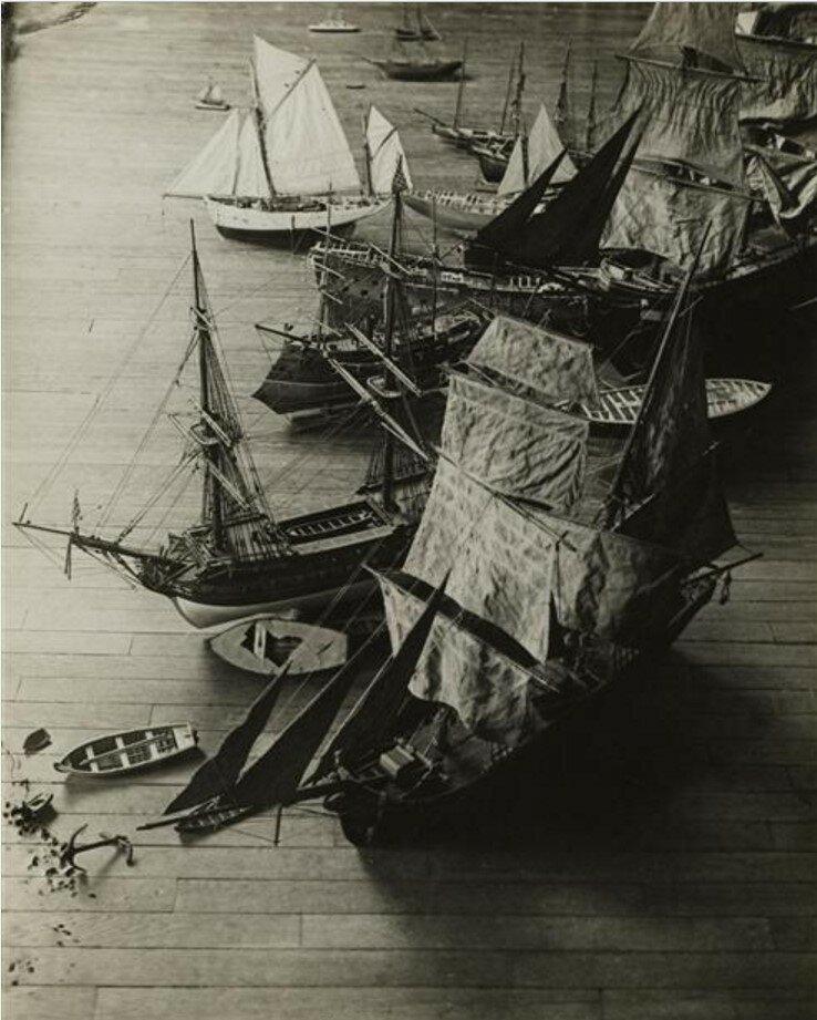 1932. Модели лодок