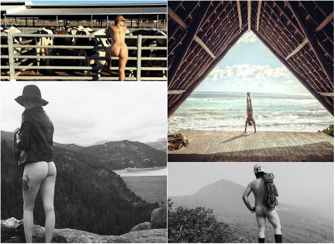 Naked travelers continue to haunt Instagram