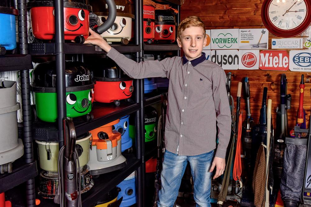 Школьник превратил увлечение пылесосами в успешный бизнес