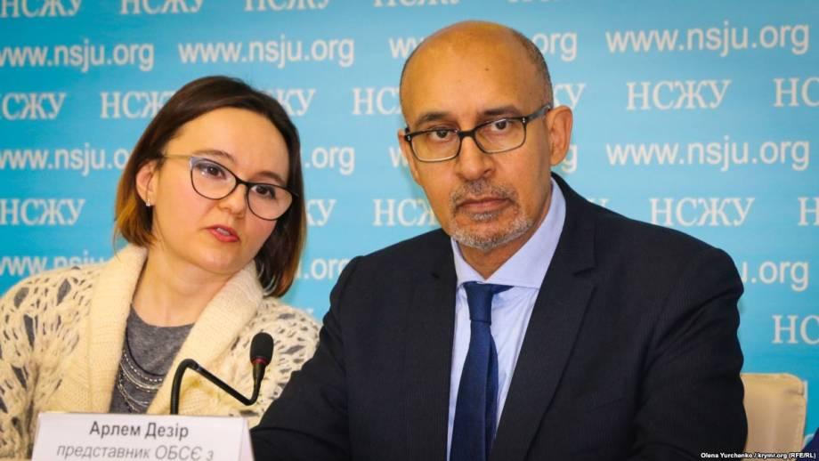 Представитель ОБСЕ Дезир заявляет, что в Москве призвал к скорейшему освобождению Асеева