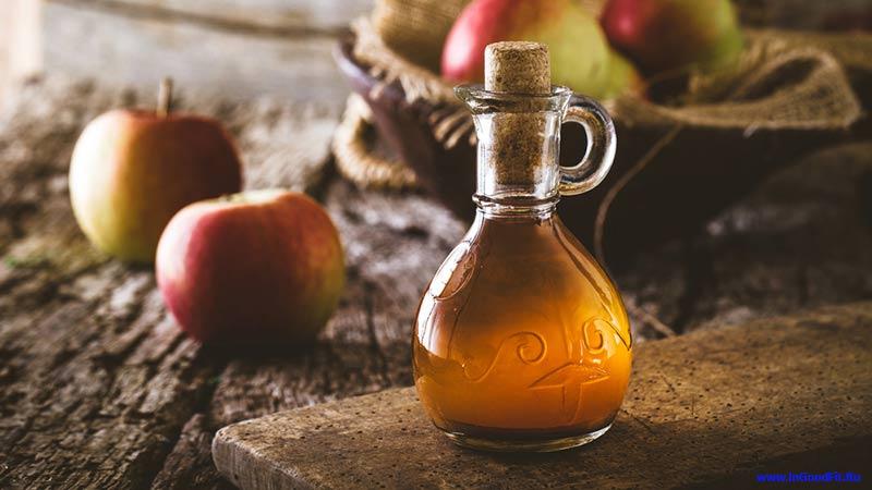 детокс вода с яблочным уксусом