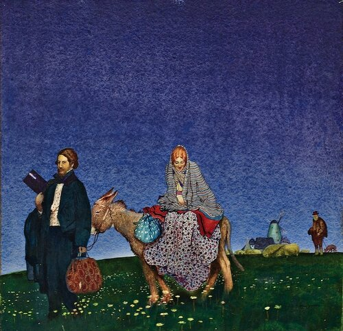 Blamire Young - The Flight into Egypt