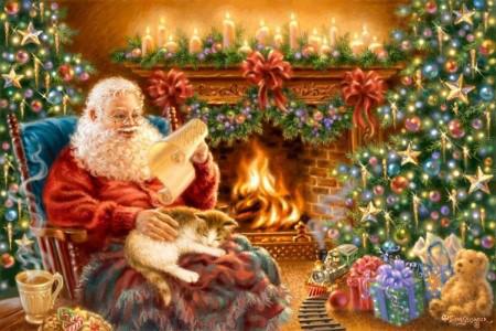 Открытки. С Днем Рождения Дед Мороз. Поздравляю