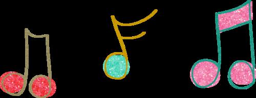 ноты и декор