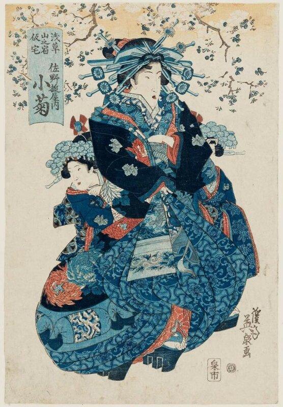 КЕЙСАЙ ЭЙСЕН (1790–1848) (ЯПОНИЯ)