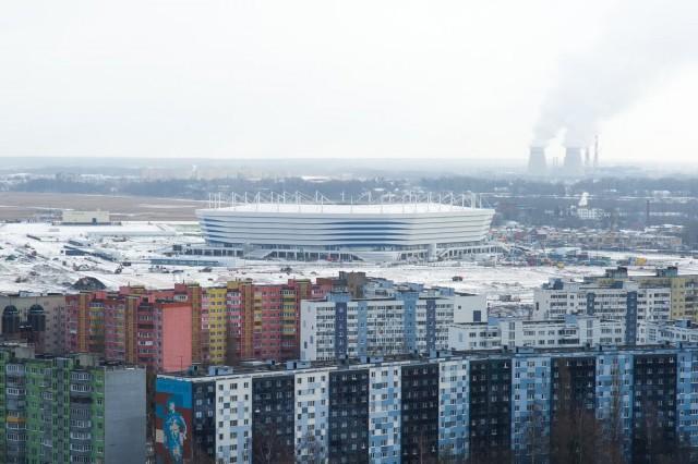 Под стадионом ЧМ-2018 вКалининграде проседает грунт