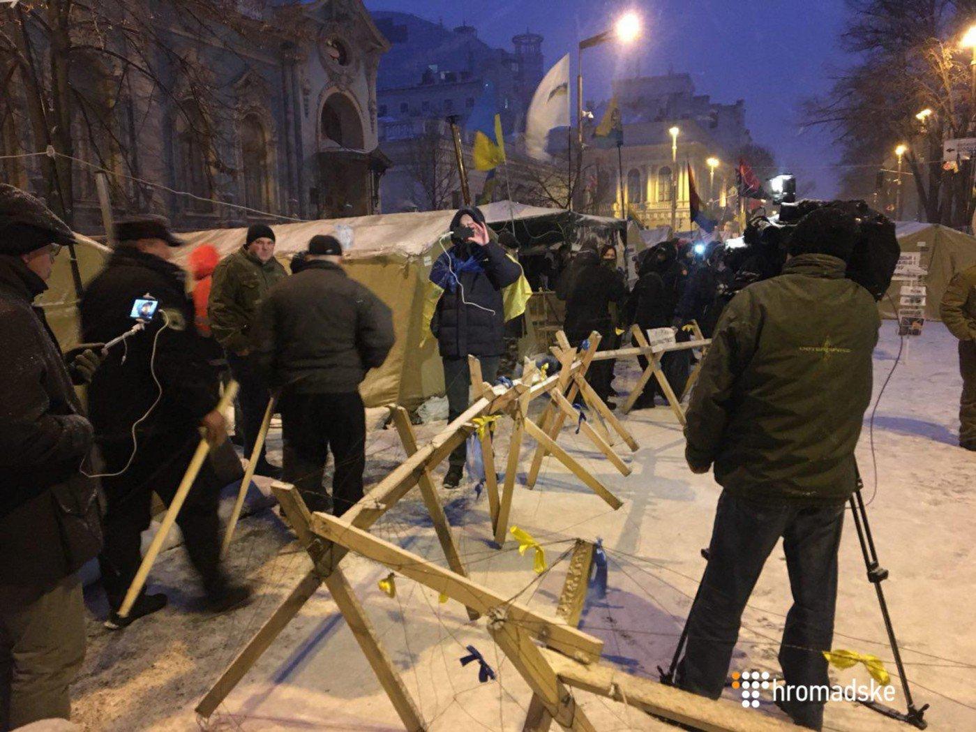 Решена судьба задержанных активистов— Штурм палаточного городка