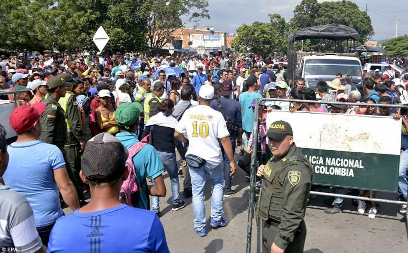 беженцы Венесуэла Колумбия мигранты
