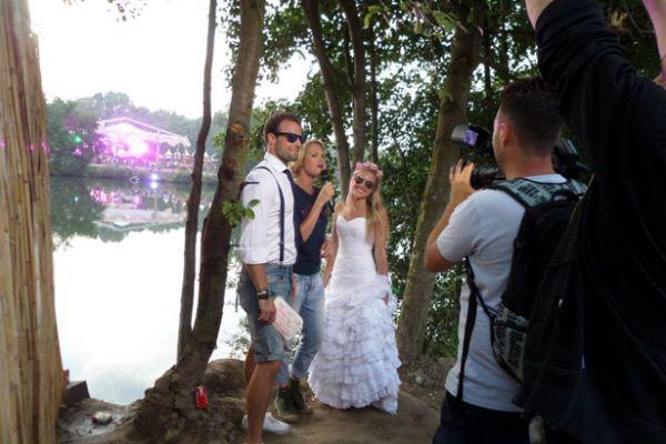 жена муж пара свадьба Фотография