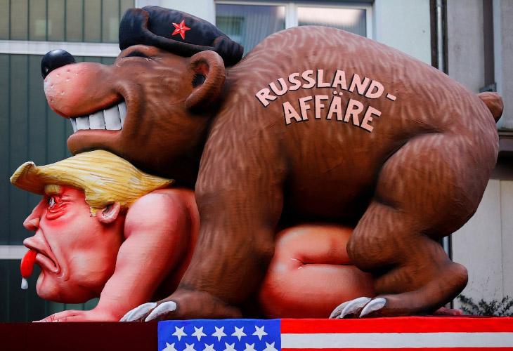 Политико-юмористический карнавал Rose Monday из Германии (15 фото)