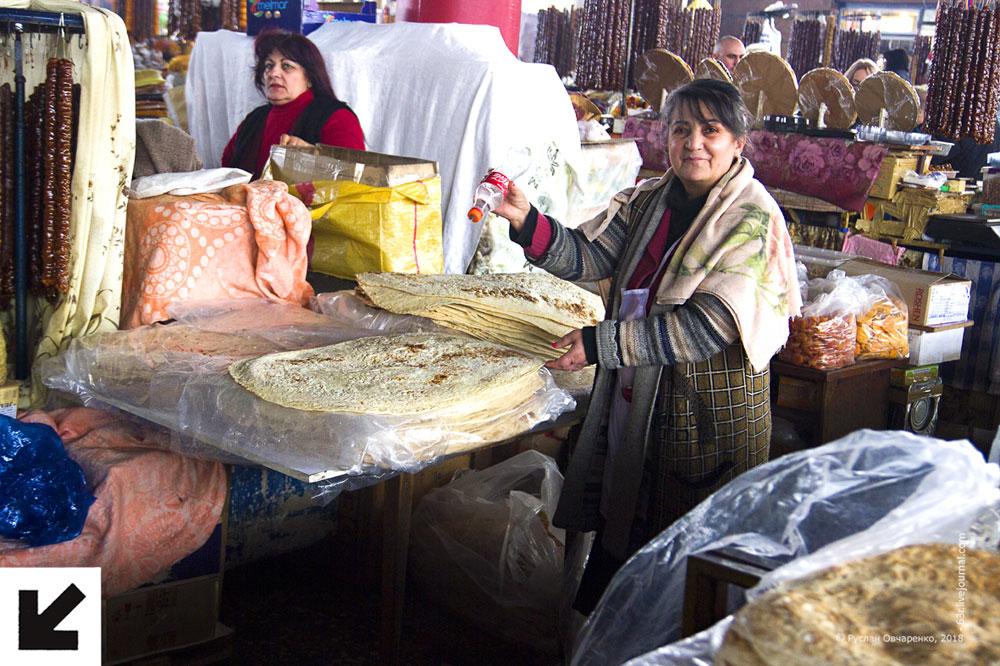 Гум в Ереване. Армянский рынок и этим все сказано