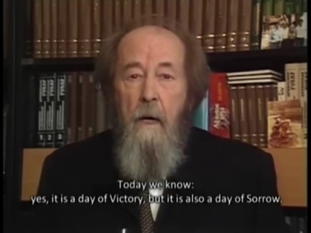 Слово А И Солженицына к 50 летию Победы