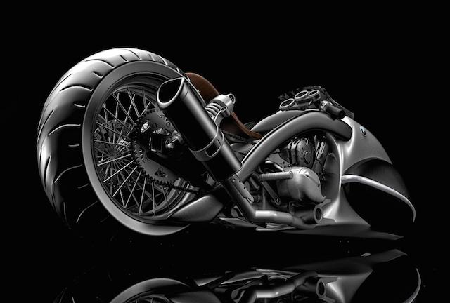 BMW Apollo Streamliner Motorcycle Concept
