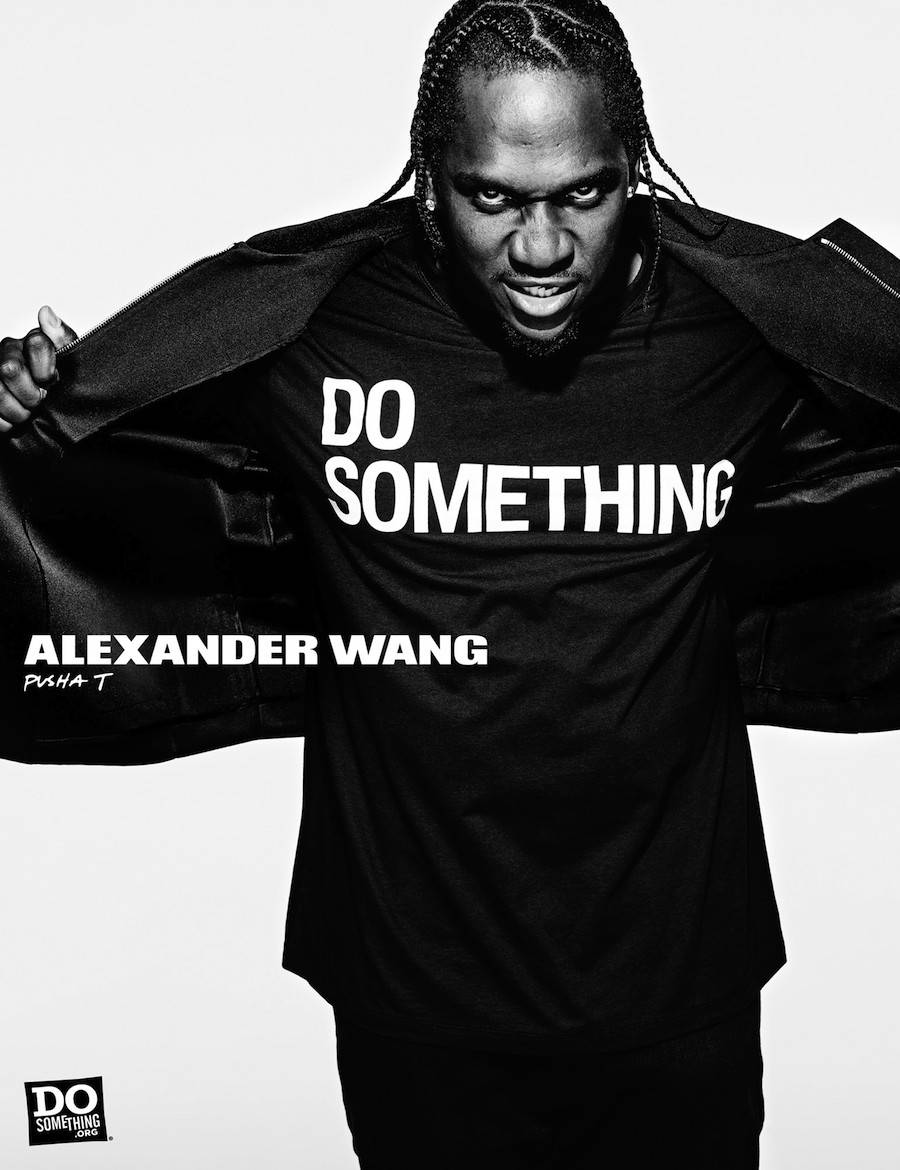 Alexander Wang Photoshoot Campaign with Celebrities