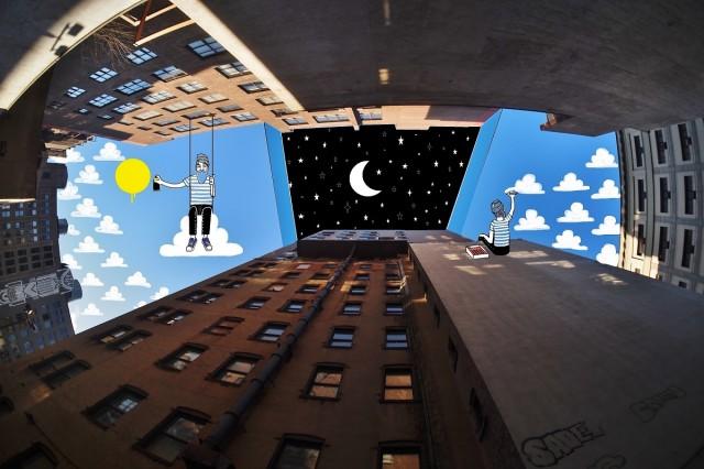 Sky Art Illustrations