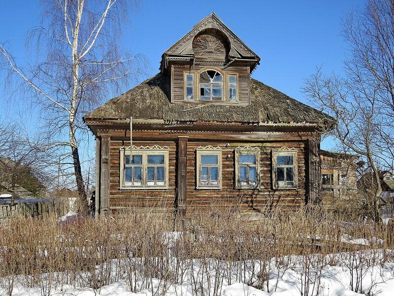 Старый дом крытый дранкой