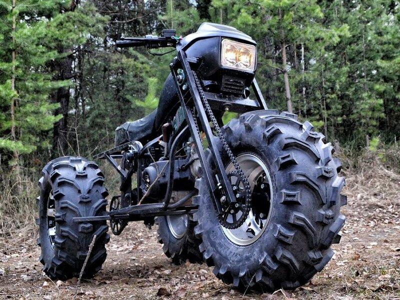 Внедорожный мотоцикл 3×3