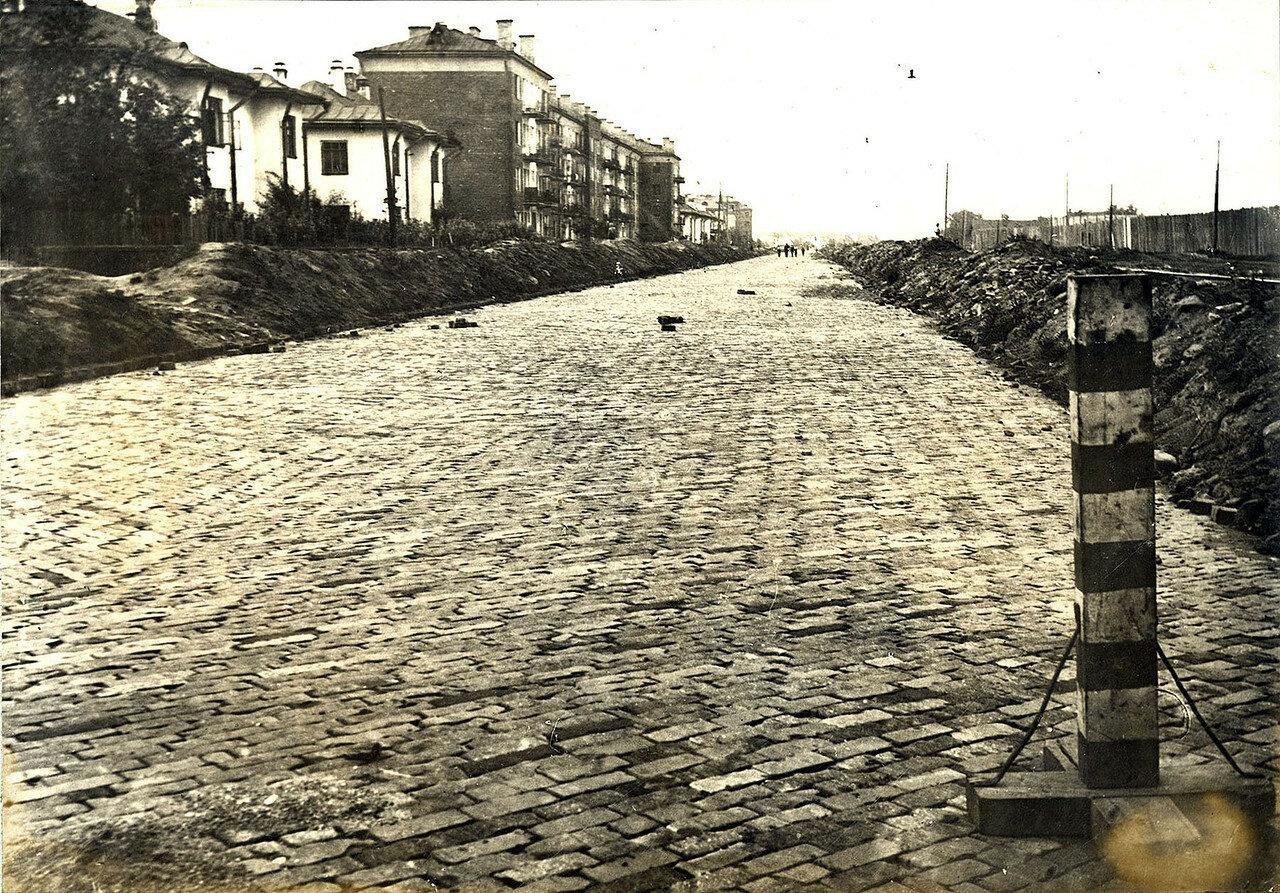 Довоенная Беговая Любопытнейший, снимок, Беговая, улица, Ленинградки, сторону, Ипподрома